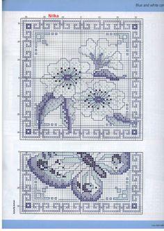 Beautiful Blue, cards - 4 of 5   Sue Paige   Cross Stitch GOLD 40   Gallery.ru / Фото #43 - 40 - loryah