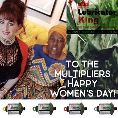 Women are Multipliers of whatever you give them 💡 Happy National #Women's #Day #South #Africa! 9/8/2019 🇿🇦  From the Female owned and managed Automatic Grease Lubricator Sole Agency in Africa: #LubricatorKing®️ 🖤👑  📧 sales@Lubricatorking.co.za Happy Woman Day, Happy Women, Grease, Ladies Day, South Africa, King, Female, Greece