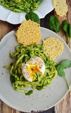 Die Natur erwacht, endlich sprießt und wächst es wieder überall (vor allem der Spinat in unserem Garten). Na da hab ich gleich ein passendes Gericht mit frischem Grün für euch! <3 Spinat und Ei…