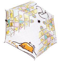 Gudetama Comic Folding Umbrella New Sanrio Japan Character Anime F S | eBay