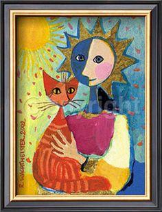 35 Best Rosina Wachtmeister Images Cat Art Illustration Art Art