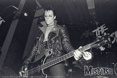 Doyle, back in the day, with the MISFITS !
