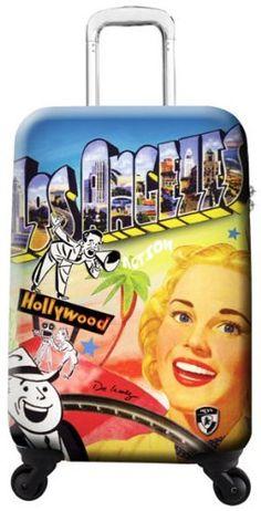 """De La Nuez By Heys Usa Travel 22"""" Spinner DE LA NUEZ BY HEYS USA carry on"""
