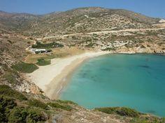 Kedros Beach, Donousa #mysteriousgreece