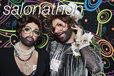 Holiday themed stunting-on-your-ass by Chicago's premier drag queens, theater weirdos, and agents provacateur..... http://glitterguts.com/photobooth/salonathon-at-the-metro
