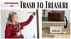 Trash to Treasure Episode 17 ~ Thrift Store Finds ~ Thrift Store Makeove...