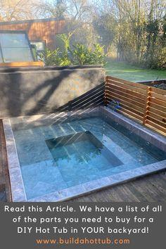 Backyard Patio Designs, Backyard Projects, Diy Patio, Outdoor Projects, Outdoor Life, Outdoor Fun, Outdoor Living, My Pool, Pool Spa