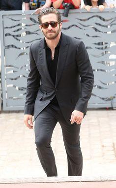 Jake Gyllenhaal from Stars at the 2015 Cannes Film Festival | E! Online