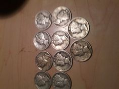 22 mercury dimes 1920s 1940s incudes free by DrewsCollectibles, $51.99