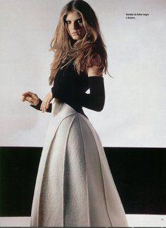 Chanel - Karl Lagerfeld - Angela Lindvall - 1999FW - fashion ads