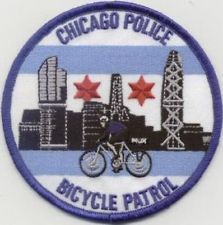ILLINOIS - CHICAGO POLICE DEPARTMENT BICYCLE PATROL Patch