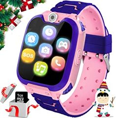 Buy Kids Games Smartwatches Boys Girls - HD Touch Screen Sports Smartwatch Phone Call Camera Games Recorder Alarm Music Player Children Days Gifts Boys Years Old Pink) online - Looknewfashion Music For Kids, Games For Girls, Toys For Girls, Gifts For Boys, Kids Toys, Phone Watch For Kids, Mermaid Shoes, Children's Day Gift, Best Kids Watches