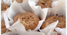Le Passe Vite: Muffins de Aveia, Banana e Sementes