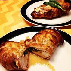 Stuffed Tomato Basil Chicken