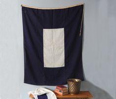 Nautical Signal Flag - Vintage - Shop Uncovet