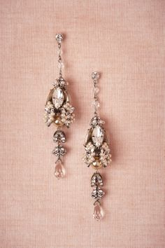 Biltmore Earrings from BHLDN - $500 #mwbridalstyle #bhldnbride