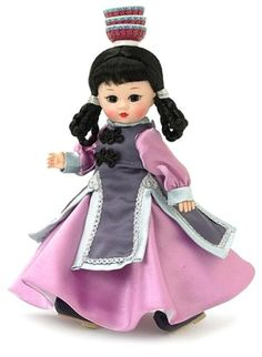 Fashion Doll: Madame Alexander 8 Inch International Collection Doll  Mongolia >>> Visit the image link more details.