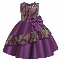 baby girl party dresses 2019 Kids Birthday Princess Party Dress For Girls Lace Children Bridesmaid Elegant Dress For Girl Baby Girls Clothes Baby African Clothes, African Dresses For Kids, Latest African Fashion Dresses, African Dresses For Women, African Print Dresses, Dresses Kids Girl, Girls Party Dress, Girl Outfits, Party Dresses For Kids