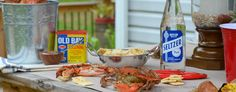 Crab Feast Party | Father's Day Crab Boil with World Market