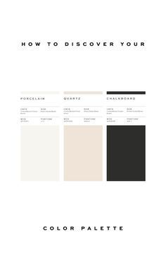 How to discover your brand's color palette. From color psychology to applying it to your materials.