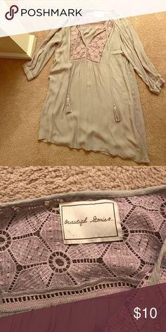 Lavendad Beautiful Stories Dress Size M | Never Worn | Dresses Long Sleeve