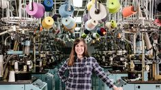 """When the onetime sock capital of the world's industry collapsed, it was """"like a vacuum cleaner pulled all the people out of town."""" But then Gina Locklear had an idea. Women In Leadership, Business Portrait, Cotton Socks, American Made, Ny Times, Alabama, Queen, Fort Payne, York"""