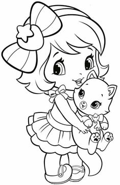Coloring Pages To Print For Girls Explore 623989 free printable coloring pages for your kids and adults. Printable american girl coloring pages. Coloring Pages Little Girl Kids Zone Chibi Coloring Pages, Easy Coloring Pages, Princess Coloring Pages, Halloween Coloring Pages, Cat Coloring Page, Coloring Pages For Girls, Disney Coloring Pages, Coloring Pages To Print, Free Printable Coloring Pages