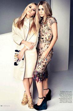 olsen do dia: gêmeas na elle russia - Juliana e a Moda   Dicas de moda e beleza por Juliana Ali