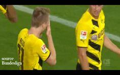 Augsburg Borussia Dortmund: All goals and Match highlights Match Highlights, Goals, Baseball Cards, Videos, Augsburg, Borussia Dortmund