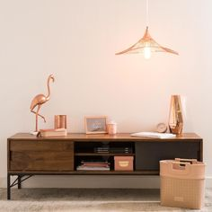 Copper Metal Cage Pendant on Maisons du Monde. Take your pick from our furniture and accessories and be inspired! Beds Are Burning, Sideboard Decor, Estilo Boho, Copper Metal, Bedroom Apartment, Floating Nightstand, Office Desk, Family Room, Sweet Home