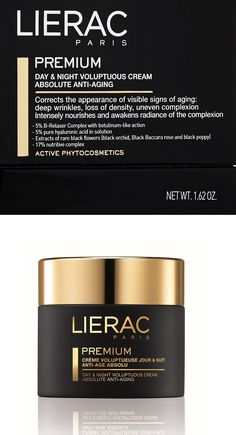 Anti-Aging Products: Lierac Premium Day And Night Voluptuous Cream Anti-Aging 1.62 Oz BUY IT NOW ONLY: $74.85