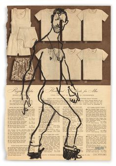 Richard Haines - Rayon Styles / Fashion Illustration Gallery