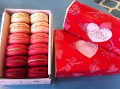 La Belle Miette - I was going to make my own this year but this is our favourite store for macaroons in Melbourne
