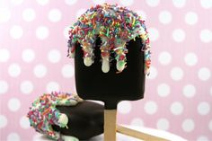 How to Make Summer Popsicle Cake Pops • CakeJournal.com