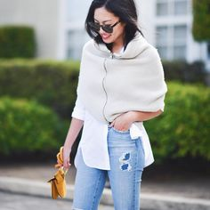 """Anh on Instagram: """"Weekend jeans. New at http://9to5chic.com @liketoknow.it www.liketk.it/1GQ9b #liketkit"""""""