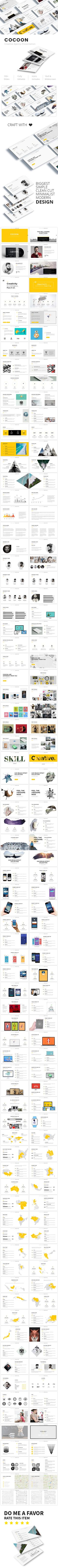Cocoon - Creative Keynote Template