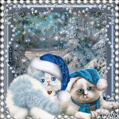 """Search """"christmas"""" on PicMix Christmas Nativity Scene, Christmas Scenes, Christmas Animals, Pink Christmas, Christmas Cats, Animated Christmas Pictures, Merry Christmas Pictures, Vintage Christmas Images, Christmas Blessings"""