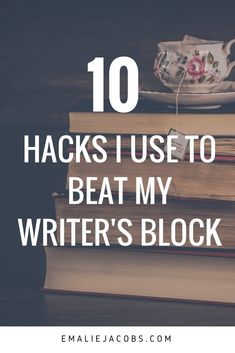 Writer's Block: 10 Hacks to Get back to Writing – Emalie Jacobs Creative Writing Tips, Book Writing Tips, Writing Process, Writing Quotes, Writing Resources, Writing Help, Writing Skills, Writing Ideas, Creative Writing Inspiration