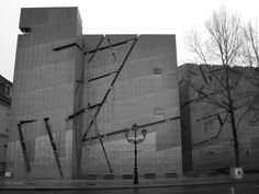 Jewish museum, Daniel Libeskind  In Berlin, Germany