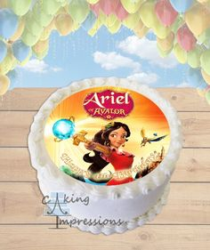 Elena of Avalor Edible Frosting Image Cake Topper [ROUND]