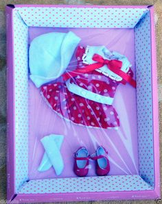 Offered in a 10 day Ebay auction. Effanbee Dots My Dress 10 in. Patsy Doll Outfit Only, Tonner 2013 #EffanbeeDollCoTonner
