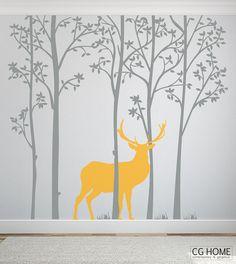 Skandynawska geometryczna dekoracja pokoju dziecinnego. Wybierz swoje kolory! WIELKOŚĆ: cała kompozycja ok 230cm wysokości x 250cm szerokości (przyklej w dowolnej konfiguracji na jednej lub dwóch ścianach) KOLOR: Wykonane w 2 dowolnych kolorach z karty kolorów CGhome (możesz zmienić ...