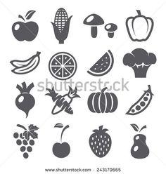 野菜 アイコン 写真素材・ベクター・画像・イラスト | Shutterstock