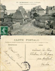 Ile Saint-Cast - La Grimpette - 1908 (from http://mercipourlacarte.com/picture?/106) Éditions Passemard, Dinan