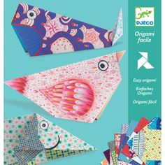 Djeco Origami Big Animals Paper Craft Kit. good website for ideas