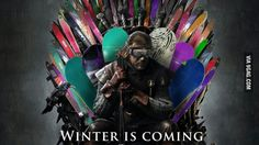 Winter Is Coming..in our style!!