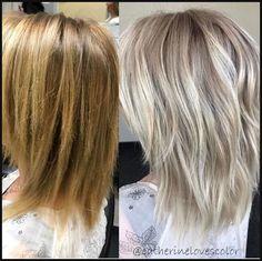Adorable Ash Blonde Hairstyles - Stylish Hair Color Ideas | medium ... | Einfache Frisuren