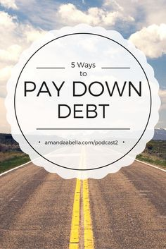 Ready to finally pay down that student loan and credit card debt? In this podcast we share five strategies to help you do just that. http://www.amandaabella.com/podcast2/