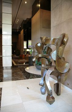 Serios sculpture! Lobby - 330 East 38th Street - New York City - Condos