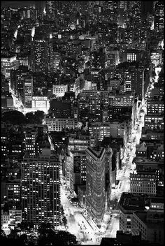 Flatiron district. NYC